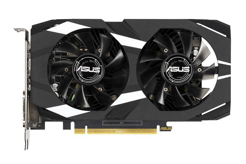 Asus Dual GeForce GTX 1650 OC Edition 4GB GDDR5