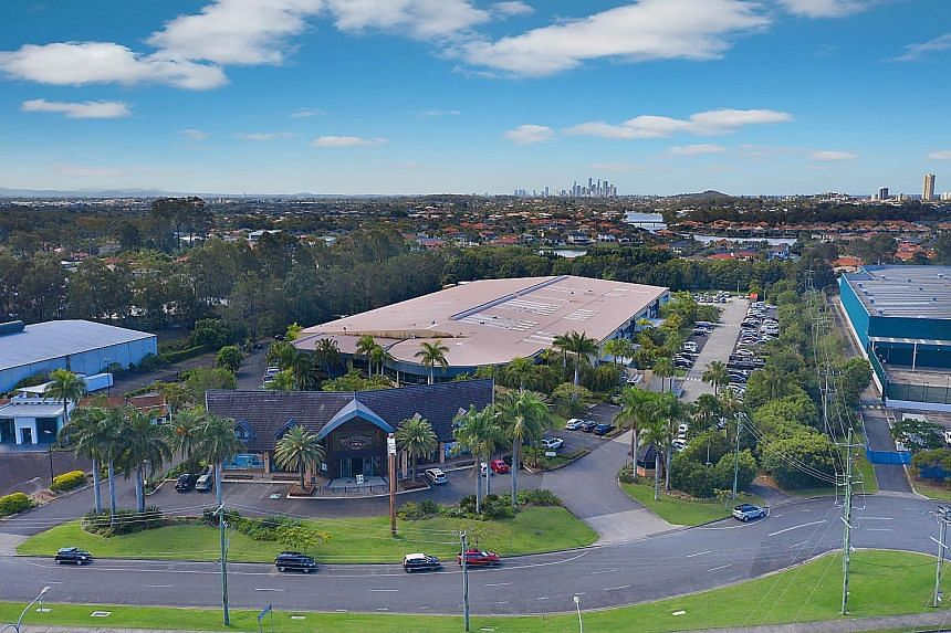 Boardriders Asia-Pacific headquarters in Burleigh Heads, Queensland, comprises a warehouse and office facility, as well as a two-storey retail building.