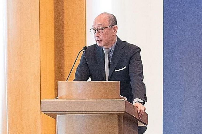 United Overseas Bank chief executive Wee Ee Cheong says over 40 per cent of group operating profit is derived from outside of Singapore, and that of this, close to 80 per cent is from operations in Asean and Greater China.