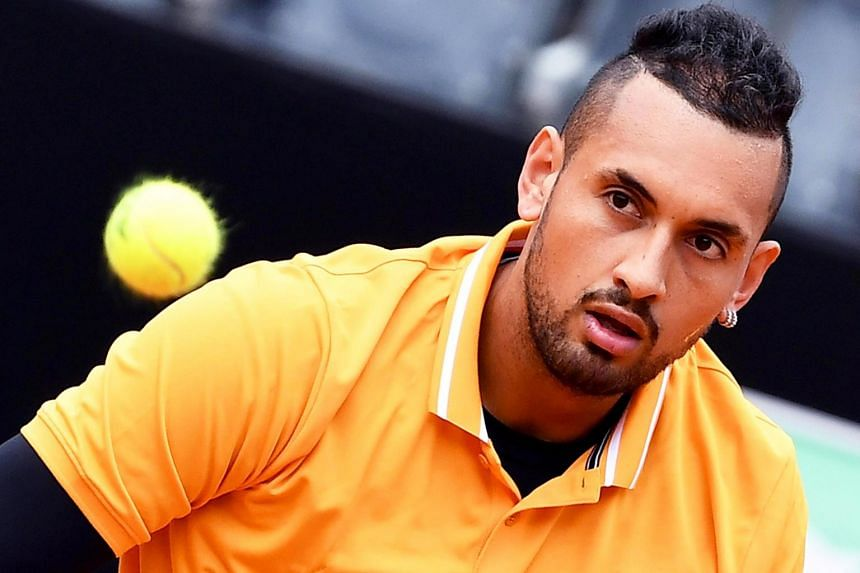 Australia's Nick Kyrgios also disparaged a number of other top professionals and fans who heckle him at his matches.