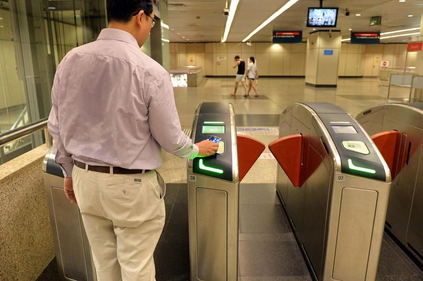 To use the service, commuters simply tap the fare gantries or card readers with their card or mobile phone, which must have Apple Pay, Fitbit Pay, Google Pay or Samsung Pay installed.