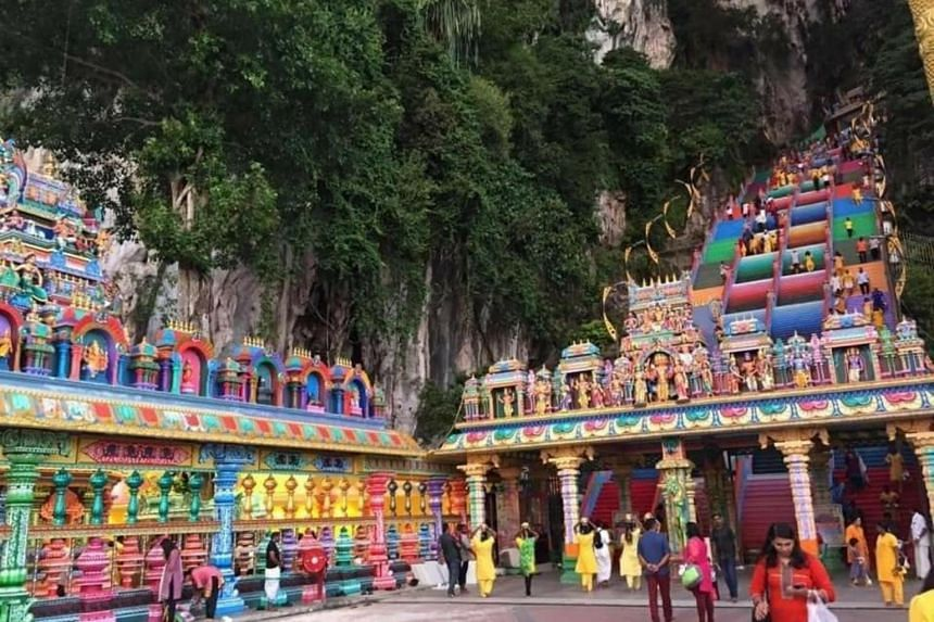 The three temples with tightened security are the Batu Caves Sri Subramaniyar Temple (above), Sri Maha Mariamman Devasthanam temple on Jalan Tun H.S Lee, and Courthill Sri Ganesha Temple on Jalan Pudu Ulu.