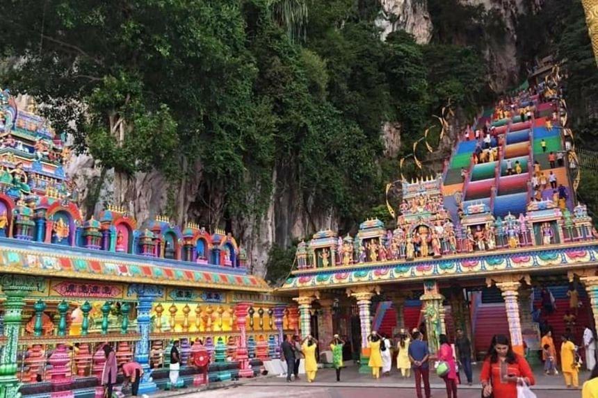 The three temples with tightened security are the Batu Caves Sri Subramaniyar Temple (above), Sri Maha Mariamman Devasthanam temple on Jalan Tun H.S Lee, and Courthill Sri Ganesha Temple on Jalan Pudu Ulu.