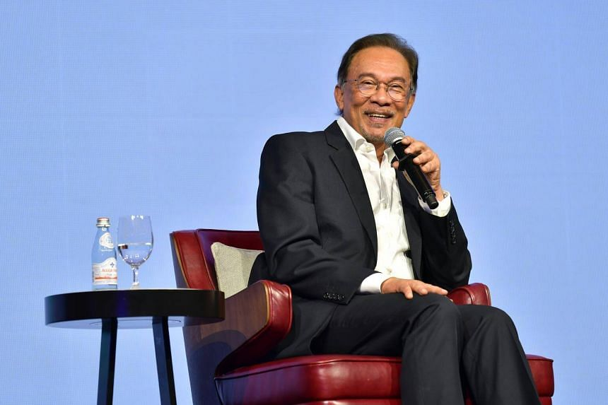 Datuk Seri Anwar was released after the Pakatan Harapan coalition swept to power in a shock election victory on May 9 last year, and was pardoned by the Malaysian King.