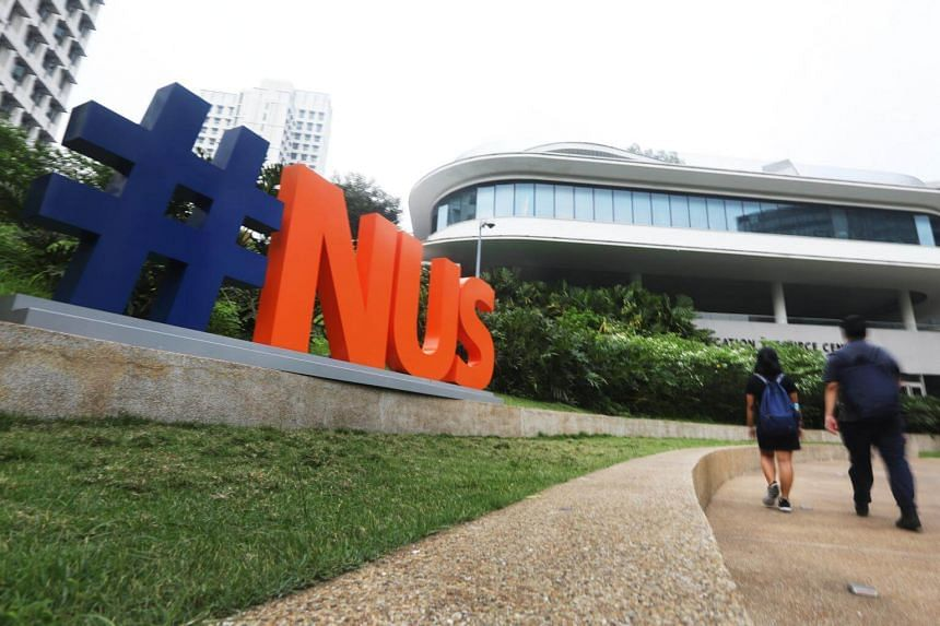 The National University of Singapore is considering a range of possible actions, including a minimum year-long suspension and expulsion.