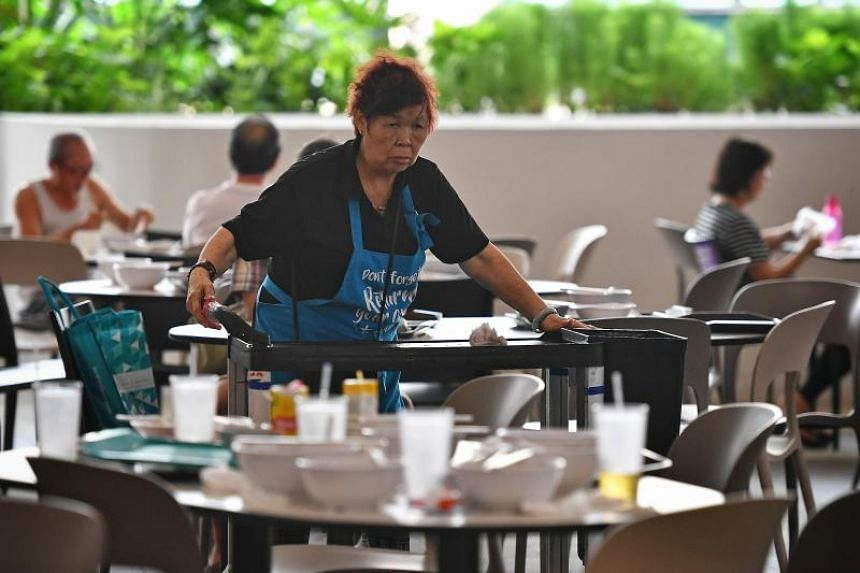 Despite patrons becoming more diligent about bussing their own tables, however, only 71.4 per cent of respondents were satisfied with the cleanliness of hawker centres.