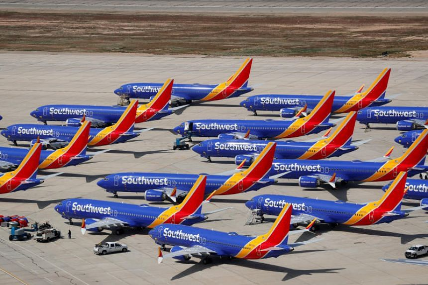 Southwest, the world's largest MAX operator, has cancelled 160 daily flights through Aug 5 as its 34 MAX jets remain parked at a facility in a California desert, hitting revenue and costs and forcing the airline to put growth plans on hold.