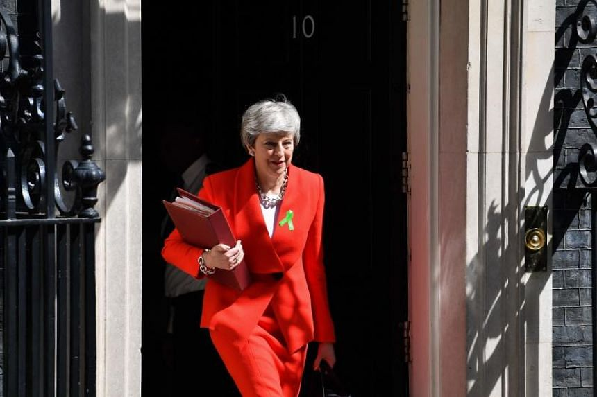 British Prime Minister Theresa May has promised to step down after her Brexit deal is approved by lawmakers.