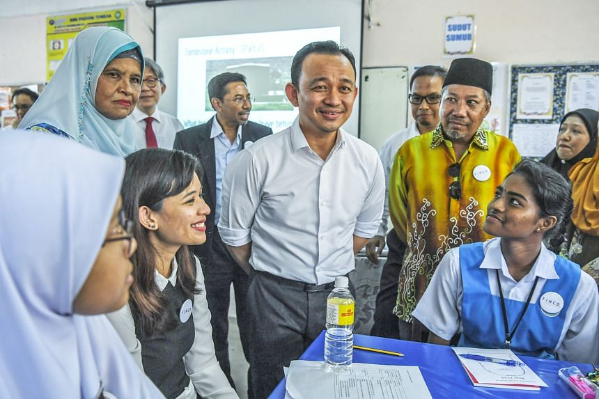 Education Minister Maszlee Malik (centre) announced on April 24 that places in the public pre-university programme, commonly referred to as matriculation, will be increased from 25,000 now to 40,000. But the current admission quota that reserves 90 p