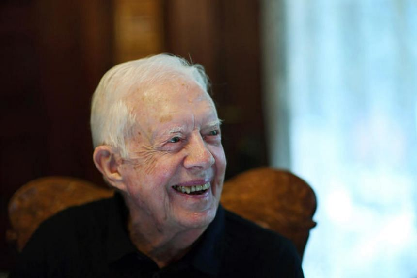 Jimmy Carter, 94, broke his hip on May 13, 2019, while leaving his home in the southern state of Georgia to go turkey hunting.