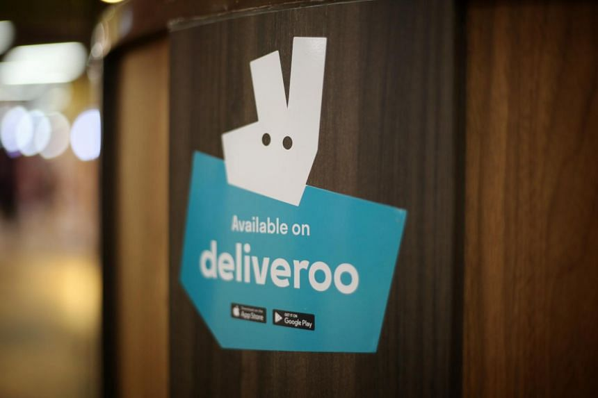 Amazon takes top stake in U.K. food delivery firm Deliveroo