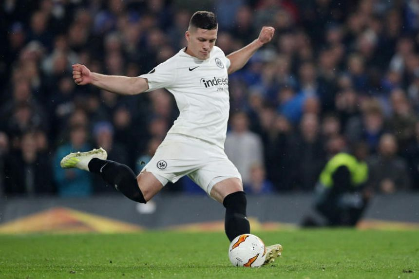 Serbia striker Luka Jovic scored 10 goals for the German side in their run to the Europa League semi-finals where they were knocked out by Chelsea on penalties and has netted 17 times in the Bundesliga.