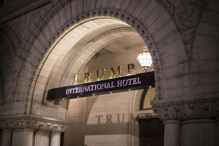 Trump International Hotel in Washington in US$40.8 million (S$55.01 million), up slightly from what it reported in 2017.