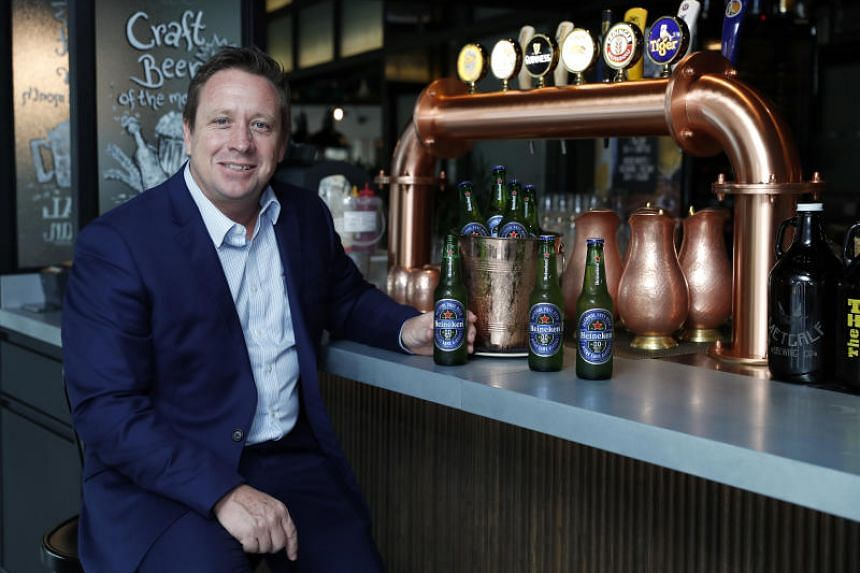 """Asia Pacific Breweries Singapore managing director Andy Hewson said that the brewery aims to be """"a world-class connected brewery of the highest standards while creating a conducive learning environment for our workers""""."""