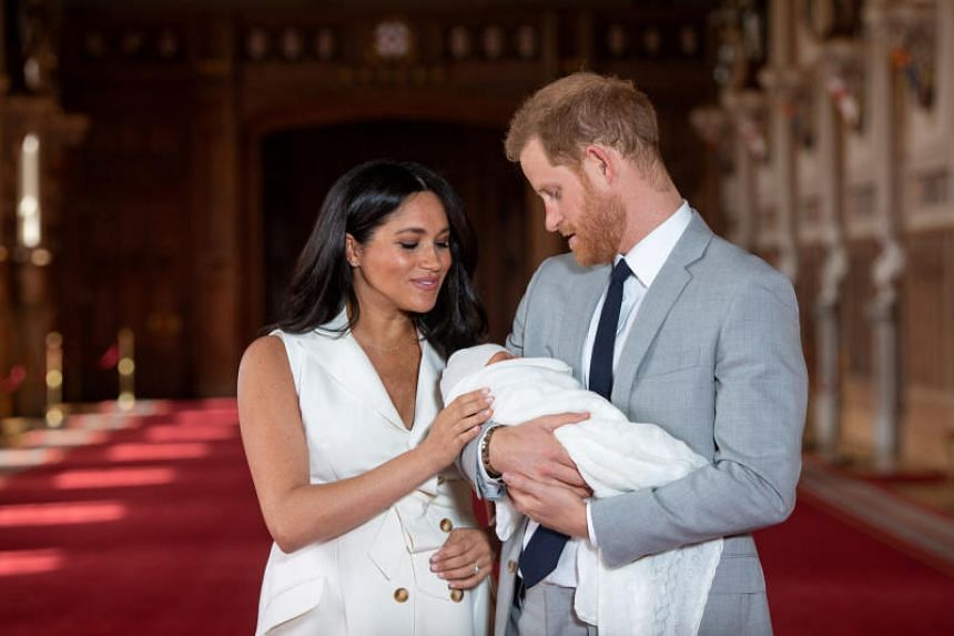 Archie Harrison Mountbatten-Windsor, who is the seventh-in-line to the British throne, was born on May 6.