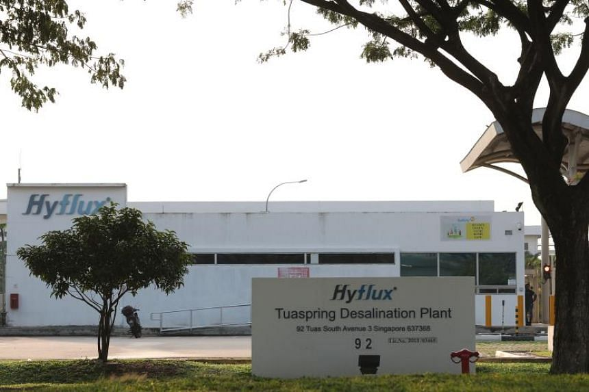 The transfer came after the water purchase agreement with Tuaspring was terminated on NMay 17, 2019.