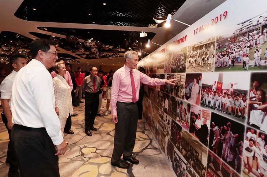 Prime Minister Lee Hsien Loong at an event in Raffles City Convention Centre to mark the golden jubilee of National Junior College, Singapore's first junior college, on May 17, 2019.