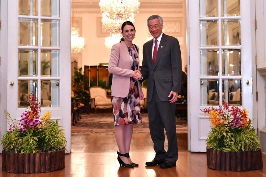 The joint declaration was inked at the Istana by Prime Minister Lee Hsien Loong and his New Zealand counterpart Jacinda Ardern, who is on her first official visit to Singapore.
