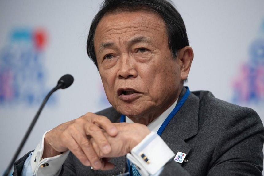 Japanese Finance Minister Taro Aso said on May 17 that the US bid to block China's Huawei Technologies from buying vital American technology could affect Japanese companies and weigh on economic growth.