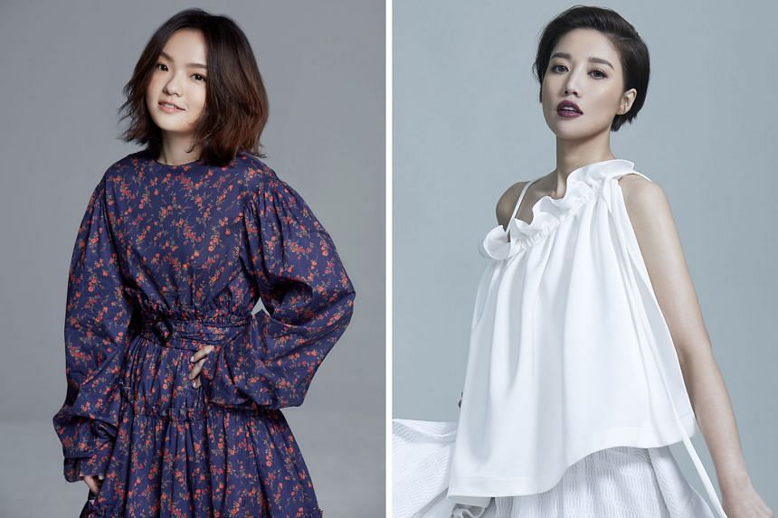 Taiwanese singers Lala Hsu (above left), A-lin (right) and Rachel Liang will perform their own hits as well as cover songs.