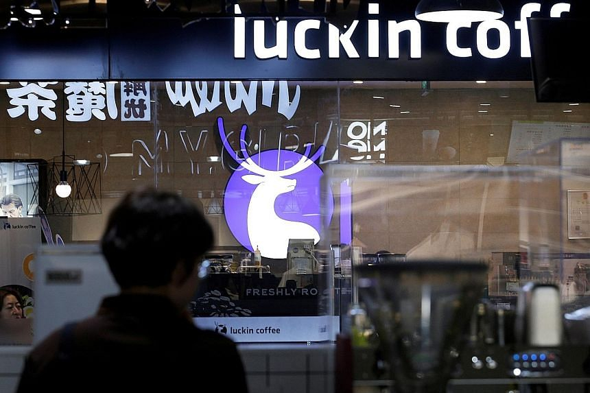 Luckin Coffee currently operates 2,370 stores across China and plans to open 2,500 more this year, with the goal of displacing Starbucks as China's largest coffee chain. The company, founded in 2017, plans to use the initial public offering proceeds