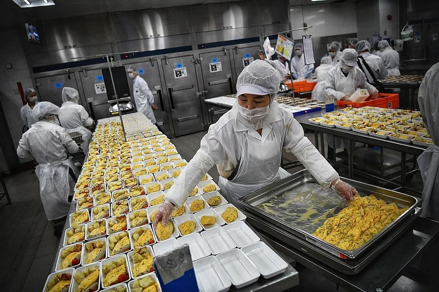 Sats' in-flight catering centre. The ground-handling company noted that while the global economy faces challenges, demand for aviation services and high-quality food in Asia-Pacific continues to grow. Sats is buying a 50 per cent stake in Nanjing Wei