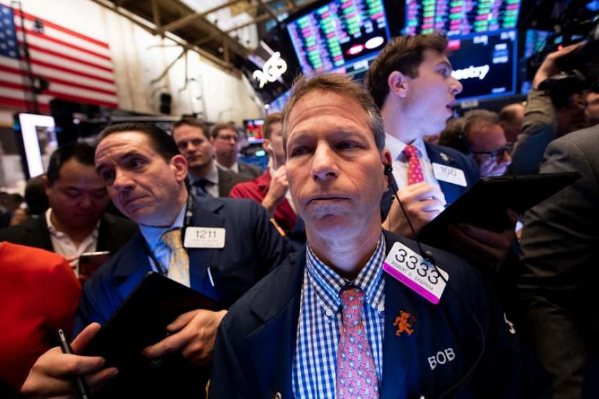 The Dow Jones Industrial Average ended the week at 25,764.00, a loss of 0.4 per cent in the session.