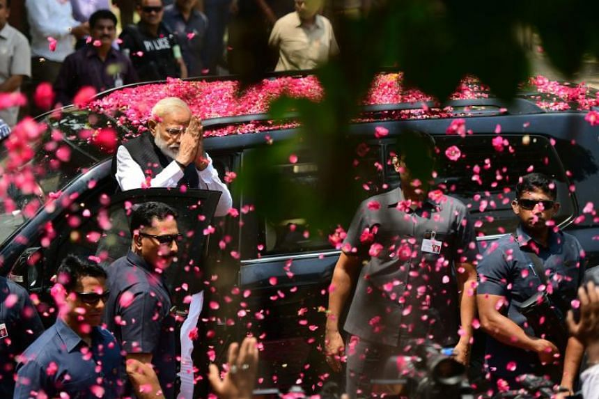 Indian Prime Minister Narendra Modi's hectic campaign has seen him address three rallies a day on average, criss-crossing the length and breadth of the geographically diverse nation of 1.3 billion people.