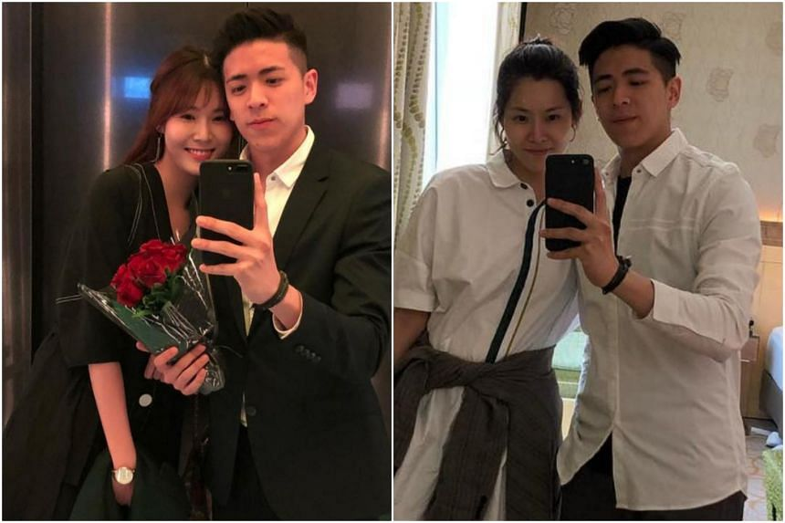 Lin's previously private Instagram account showed several photos of himself and girlfriend Carrie Wong, including one that dated back to last June.