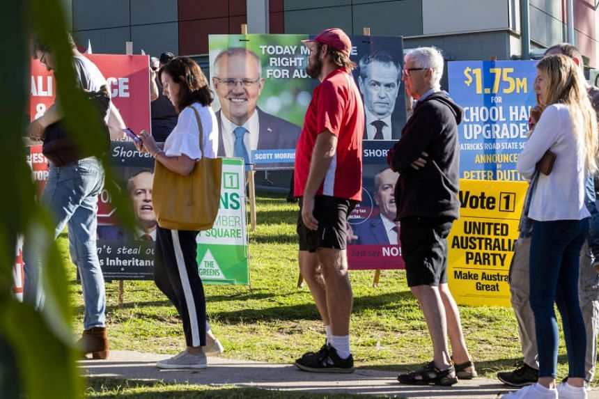 The states of New South Wales, Victoria, Queensland and Tasmania, and the Australian Capital Territory, account for 123 of the 151 lower house parliamentary seats up for grabs.