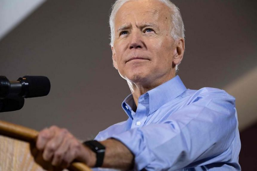 Since entering the race last month, Mr Joe Biden has largely ignored the other 23 contenders in the Democratic field, instead training his fire on US President Donald Trump.