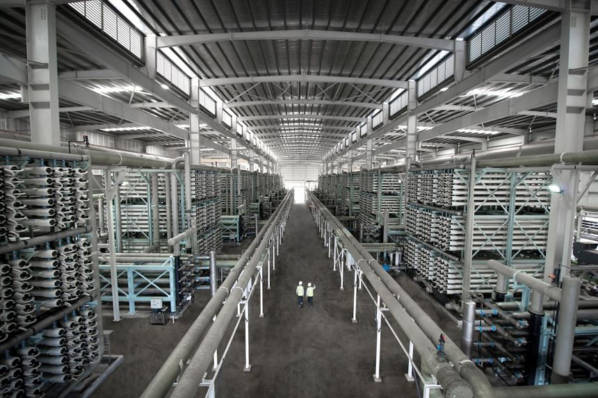 Tuaspring Desalination Plant, one of the desalination plants built by water treatment firm Hyflux.