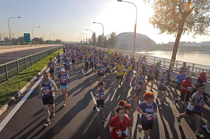 Long-distance runs like The Straits Times Run 2019 on Sept 29 are considered low-intensity, steady-state cardio, which burns more fat than it builds muscle.