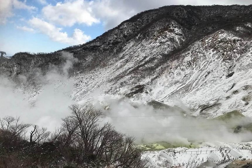 The alert level for Mount Hakone was raised on May 19 after an increase in seismic activity was detected.