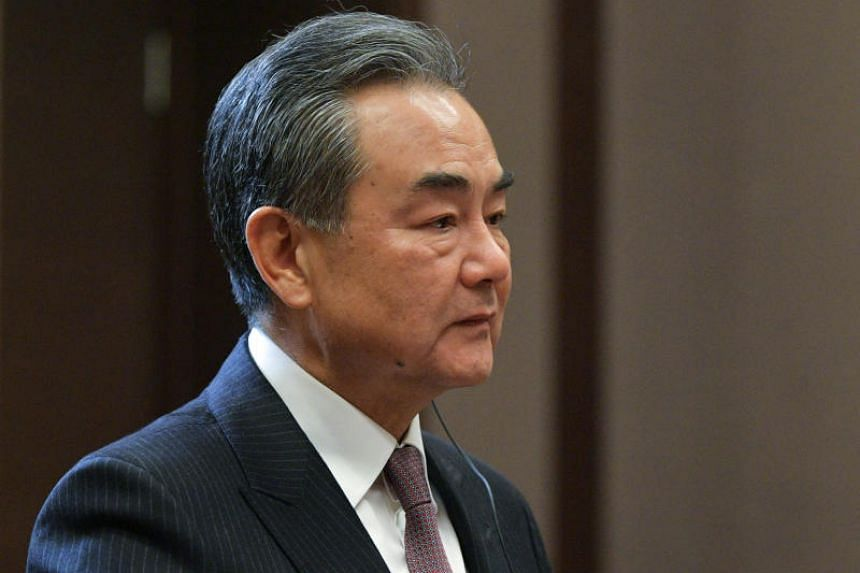 "China's senior diplomat Wang Yi said the United States should not go ""too far"" in the current trade dispute between the two sides, adding China was still willing to resolve differences through negotiations, but they should be on an equal footing."