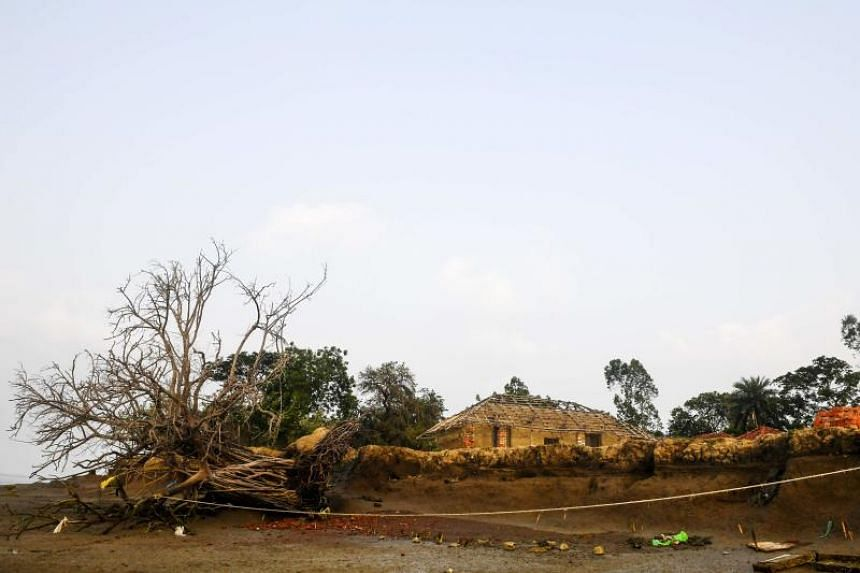 Ghoramara island's coast has been affected by erosion, and there are fears that the island will sink into the Bay of Bengal.