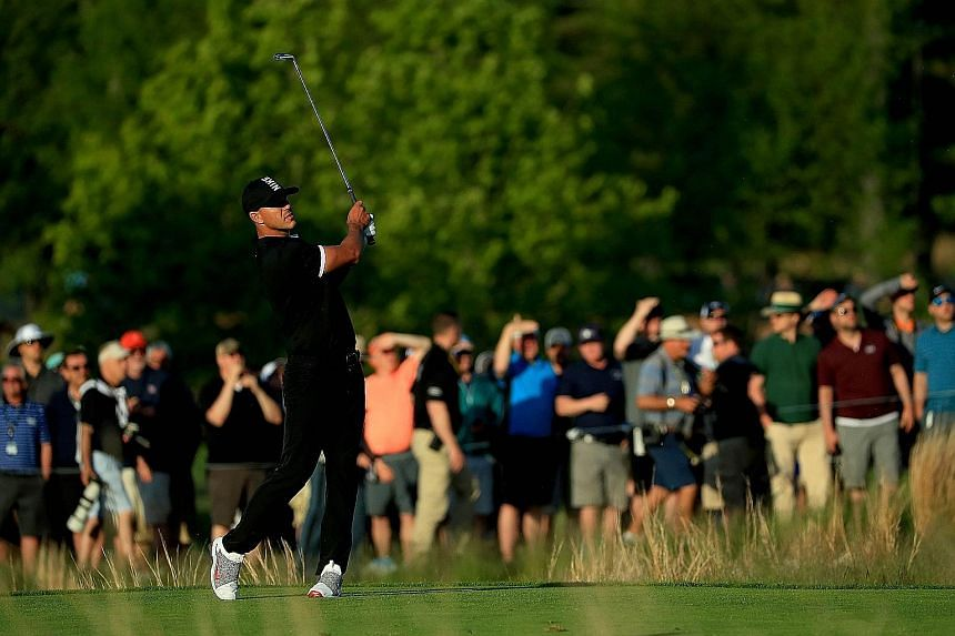 A victory for Brooks Koepka of the United States at the PGA Championship will mean that he will become the first man to hold back-to-back titles in two Majors simultaneously. PHOTO: AGENCE FRANCE-PRESSE