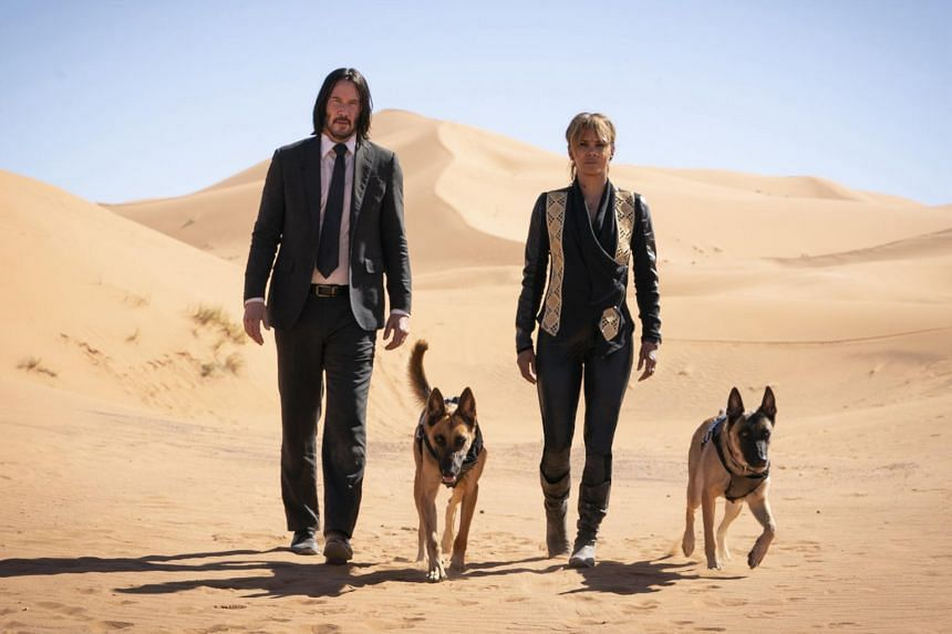 John Wick is a sensitive avenger of righteous anger, repeatedly visited by bad guys and outrageous outrages.