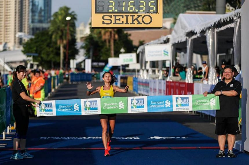 Lim Baoying, a resident physician at the Changi Sports Medicine Centre, said she realised only after the race that modafinil was not allowed, and contacted Singapore Athletics to relinquish her win.