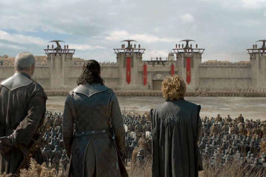 The Game Of Thrones television series comes to an end after eight years.