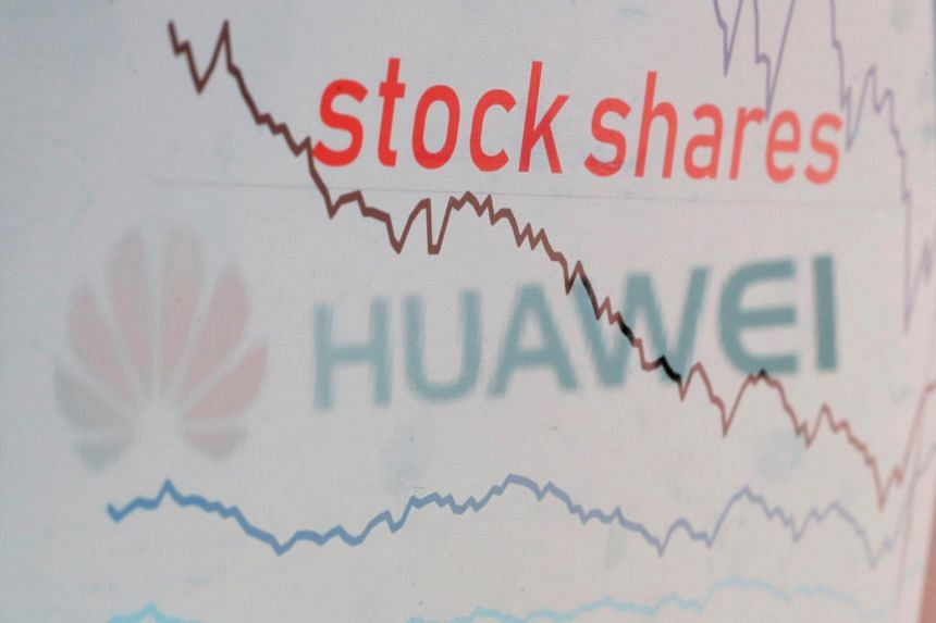 Asian shares wobbled near four-month lows on May 21 on mounting worries the White House's black-listing of Huawei Technologies could further inflame already tense relations between Washington and Beijing.
