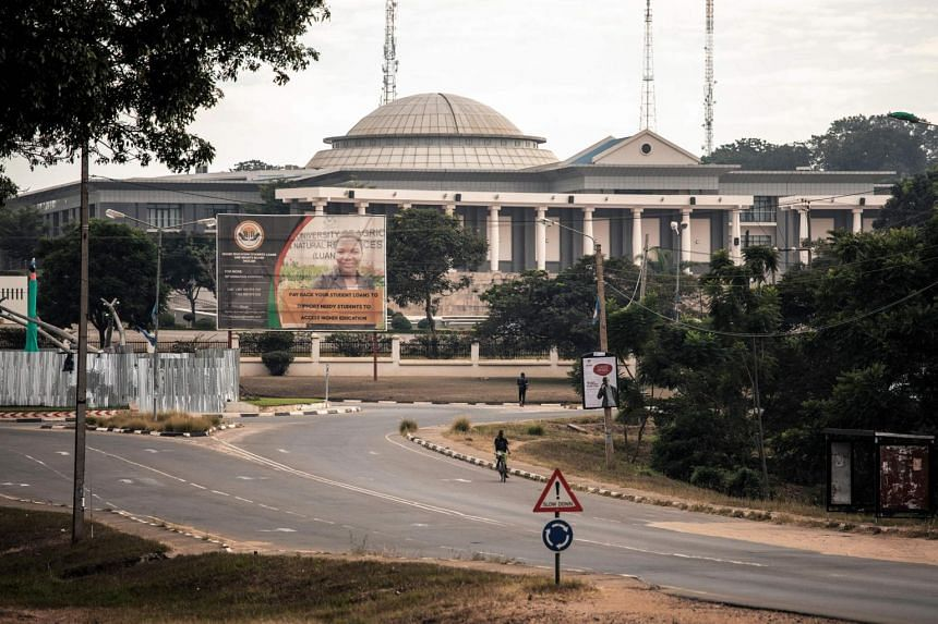 A view of the Malawian Parliament in Lilongwe. Polling starts at 6am local time on May 21, 2019.