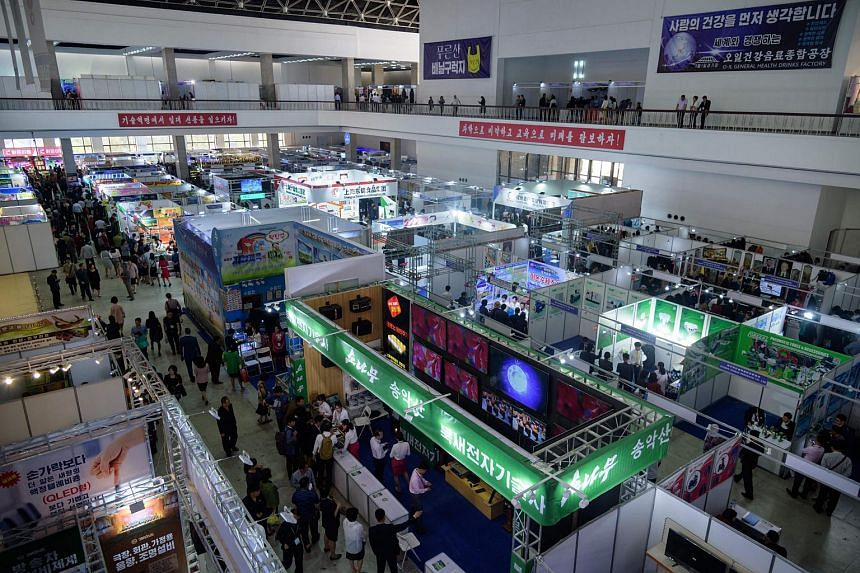According to North Korean state news agency KCNA, more than 450 companies attended the 22nd Pyongyang Spring International Trade Fair, which  opened on May 20.