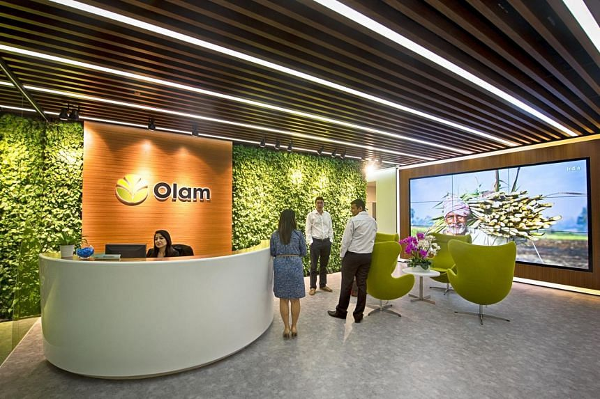 The Olam International office at Straits View, Marina One East Tower.