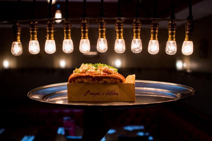 Burger & Lobster's menu in Singapore features its iconic Original Roll.