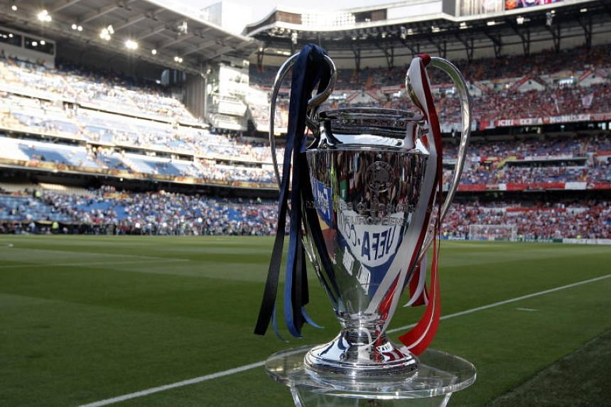 The UEFA Champions League trophy. Tottenham have been allocated 16,613 tickets for the all-English final, meaning many fans will miss out.
