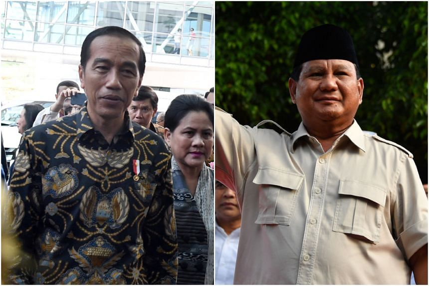 Indonesian President Joko Widodo (left) has expressed his desire to reach out to his rival Prabowo Subianto in the spirit of democracy.
