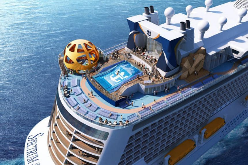 Spectrum of the Seas can carry over 5,600 passengers and is Royal Caribbean's first vessel to be designed with the Asian guests in mind.