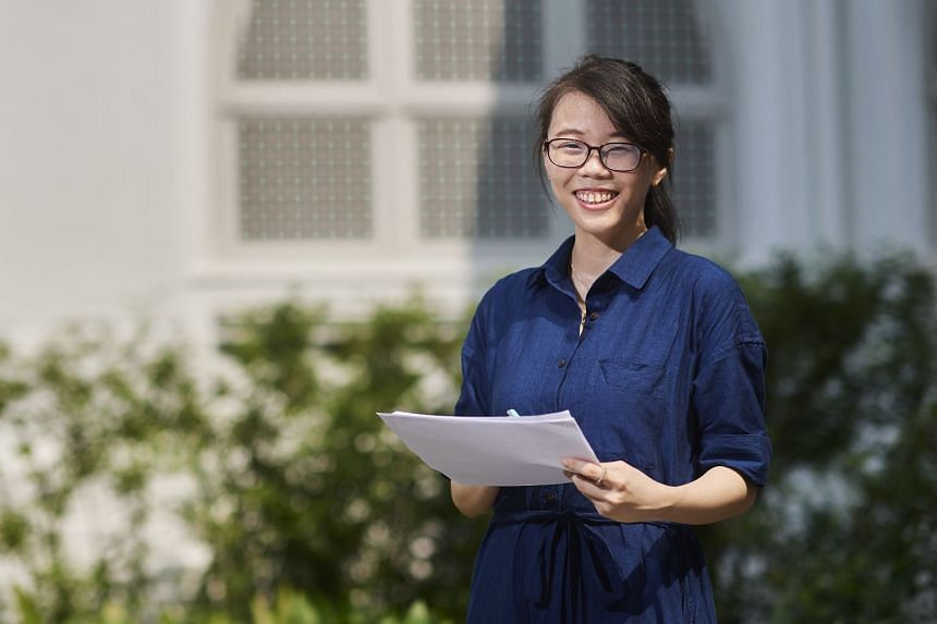 After a two-year hiatus from academia, Ms Leong Li Zi was initially daunted about returning to university, but found overwhelming support from the staff and faculty at the Singapore campus of James Cook University. PHOTO: TED CHEN