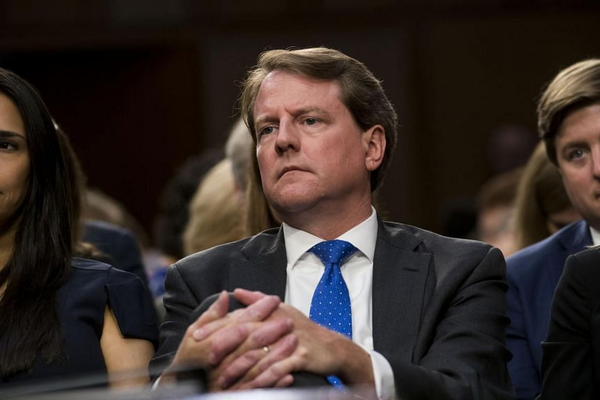 Former White House counsel Don McGahn has been instructed by US president Donald Trump not to testify before Congress.